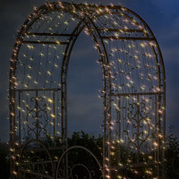 Solar String Lights With White LEDs - Plow & Hearth
