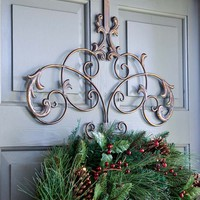 Iron Wreath Hanger - Plow &amp; Hearth
