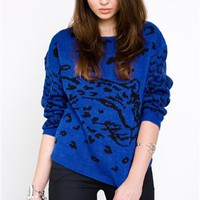 Mink Pink Clothing- Once a Cheetah Jumper- $82.99