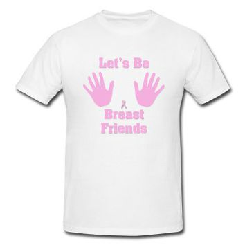 BREAST FRIENDS | Men's Heavyweight T-Shirt designed by allmarkmade | Spreadshirt  | ID: 4953195
