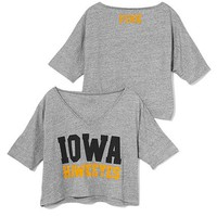 University of Iowa Wide V-neck Tee