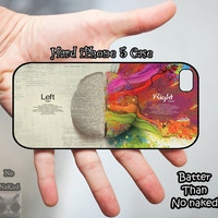 Brain iPhone 5 Case, iPhone case, iPhone 5 Case, iPhone 5 Cover, Hard iPhone 5