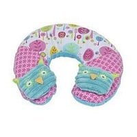 Girl Owl Travel Pillow