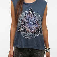 Truly Madly Deeply Cosmic Zodiac Muscle Tee