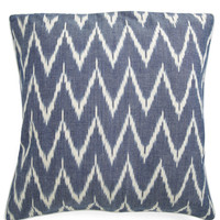 Ikat Lover Pillow in Blue | Mod Retro Vintage Decor Accessories | ModCloth.com