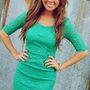 Call Me Maybe Dress: Kelly Green | Hope's
