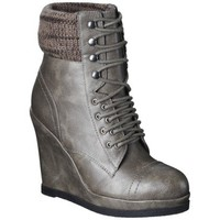 Women's Mossimo® Kalare Wedge Ankle Boot - Grey