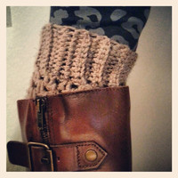 crochet leg warmers/ boot cuffs/ many colors/ fall accessory/ crochet