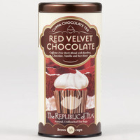 The Republic of Tea Red Velvet Chocolate Tea, 36-Count Tin