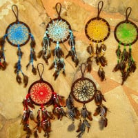 Mini Dream Catcher (custom color)