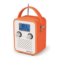 Crosley Radio: Songbird Radio Orange, at 30% off!