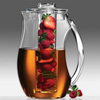 Prodyne Fruit Infusion 93-Ounce Natural Fruit Flavor Pitcher: Amazon.com: Kitchen &amp; Dining