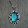 Endless Deep Cameo Necklace