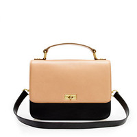 Edie tricolore purse
