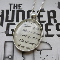 Hunger Games 'The Hanging Tree' Mockingjay by PrettyLittleCharmsUK
