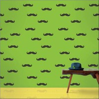 Wallcandy Arts Wallpaper Mustache