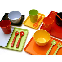 notNeutral Melamine Snack Sets | Kids Furniture & Baby Furniture too!