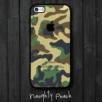 iPhone 5 Case - Forest Camouflage