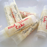 HOLIDAY SALE, Red Velvet Cake Lip Balm, Black Friday / Cyber Monday