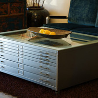 REHAB Vintage Interiors - Vintage Steel Desks, Retro Office Furniture, Metal Lawyers Cabinets