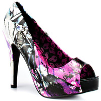 Iron Fist - Love Shock Platform - Black