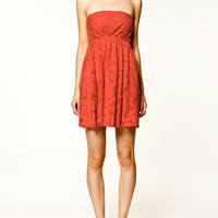 LACE DRESS - Dresses - Collection - TRF - ZARA United States