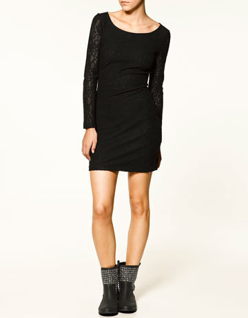 V-BACK DRESS - Dresses - Collection - TRF - ZARA United States