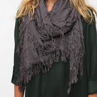 Deena &amp; Ozzy Shredded Square Scarf