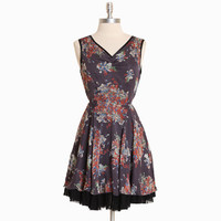hennepin square floral dress