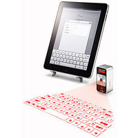 ThinkGeek :: Cube Laser Virtual Keyboard for iPad &amp; iPhone
