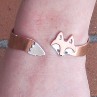 10 Dolllars Off Black Friday Sale - Wrap Around Fox Bracelet