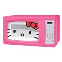 Amazon.com: Hello Kitty 0.7 Cubic Feet 700 Watt Microwave - MW-07009 with Mini Tool Box (cog): Everything Else