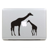 Giraffe-Macbook Decals,Macbook Decal,Macbook Stickers, Apple Decal,Macbook Pro decal and Macbook Air decal