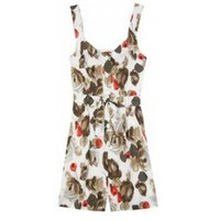Dolce & Gabbana Playsuit With Floral Print,$250,cheap Dolce & Gabbana,clothes,Dolce & Gabbana
