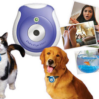 CAT & DOG PET'S EYE VIEW CAMERA