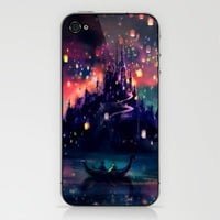 The Lights Phone Skin by Alice X. Zhang | Society6