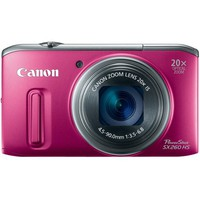Canon PowerShot SX260 HS 12.1 MP CMOS Digital Camera with 20x Image Stabilized Zoom 25mm Wide-Angle Optical Lens and 1080p HD Video (Red) | www.deviazon.com