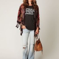 Free People Destroyed Denim Flare at Free People Clothing Boutique
