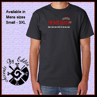 Im NOT Santa Mens T Shirt sizes S - 3XL with Nail Heads For ALL Naughty Guys looking for someone to sit on their lap