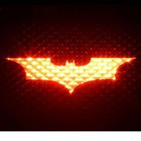 BATMAN BEGINS - 3rd Third Brake Light Vinyl Decal Mask Kit #1077 | Vinyl Color: Black : Amazon.com : Automotive