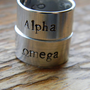 Alpha Omega  aluminum 3/8 inch  wrap ring