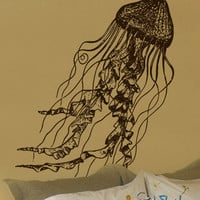 Vinyl Wall Decal Sticker JellyFish Deep Sea Ocean