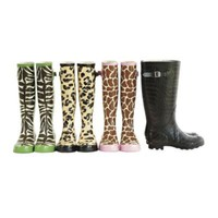 Animal Print Rainboots - Ballard Designs