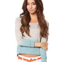 Papaya Clothing Online :: GRADATION CASUAL TOP