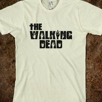 Walking Dead-Unisex Black T-Shirt