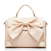 Rachel Bow Day Bag - Forever New