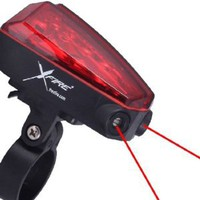 Amazon.com: X-Fire 5-LED Taillight with Laser Lane Marker: Sports & Outdoors