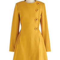 Best and Brightest Coat | Mod Retro Vintage Coats | ModCloth.com