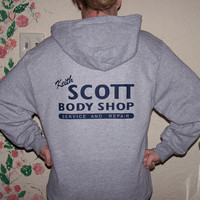 Keith Scott Body Shop hoodie SIZE MEDIUM tree hill oth one SIZE MEDIUM