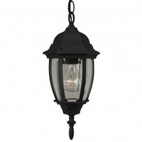 Craftmade Exterior Lighting Cast Aluminum Outdoor Pendant with Glass Bowl Panels - Z261-04 - Exterior Lighting - Lighting